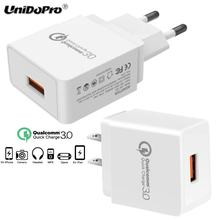 Quick Charge QC 3.0 18W US / EU Plug AC Wall Charger for Huawei Mate 10 Pro / Mate 8 9 10 Lite , Honor V10 V9 V8 Pro 7x 6X 5X 5C(China)