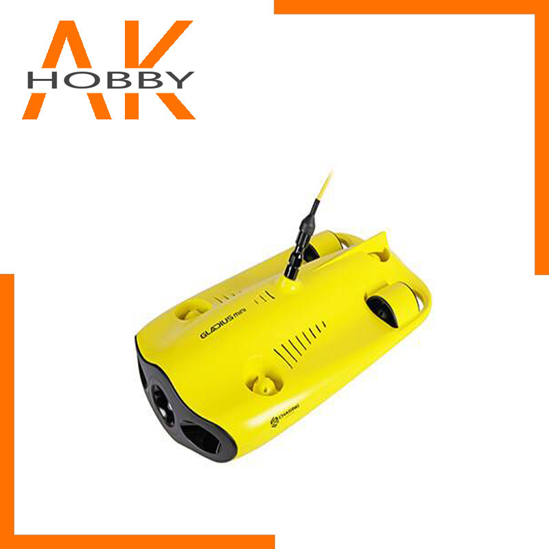 Drone Camera Miniature Underwater-Submarine 4K with 100m-Depth Five-Wheel-Drive