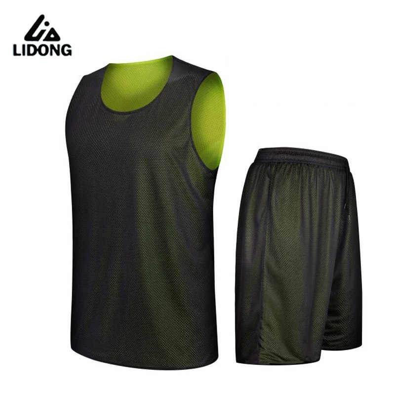 25f039392092 ... 2018 Kids Boys Reversible Basketball Jersey Set Uniforms kits Sports  clothes Double-sided basketball jerseys ...