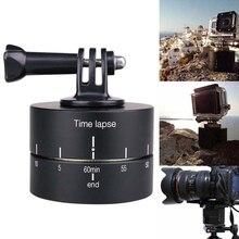 Струйное 360 градусов промежуток времени Автоповорот Камера штатива База 360 Вращающийся timelapse для GoPro Камера SLR для Iphone