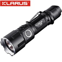 New KLARUS XT11GT CREE XHP35 LED 2000 Lm 4 Mode Tactical Led Flashlight + Free USB Port and 18650 Battey for Self Defence