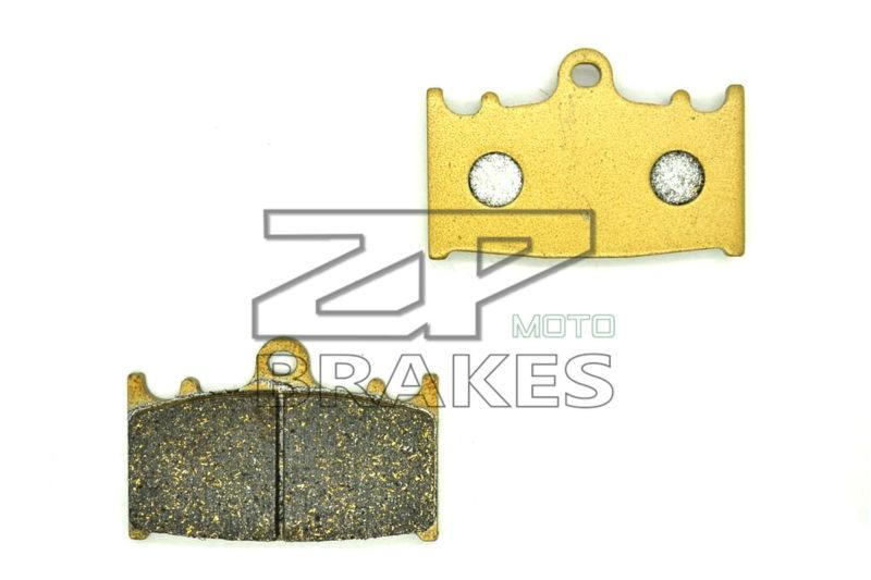 цены ZPMOTO Organic Brake Pads For Front KAWASAKI ZZR 600 (ZX600D/F382) 1993-2005, ZXR 400 1989-1990, ZZR 400 1990- BRAKING OEM New