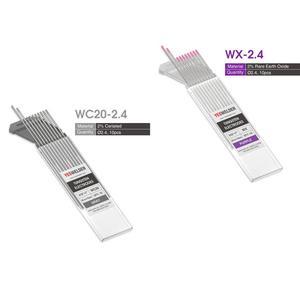 "Image 3 - YESWELDER 10 adet/takım kaynak çubuk Tungsten elektrot 175mm/7 ""1.0 1.6 2.4 3.2 4.0/0.04"" 1/16 ""3/32"" 1/8 ""5/32"""