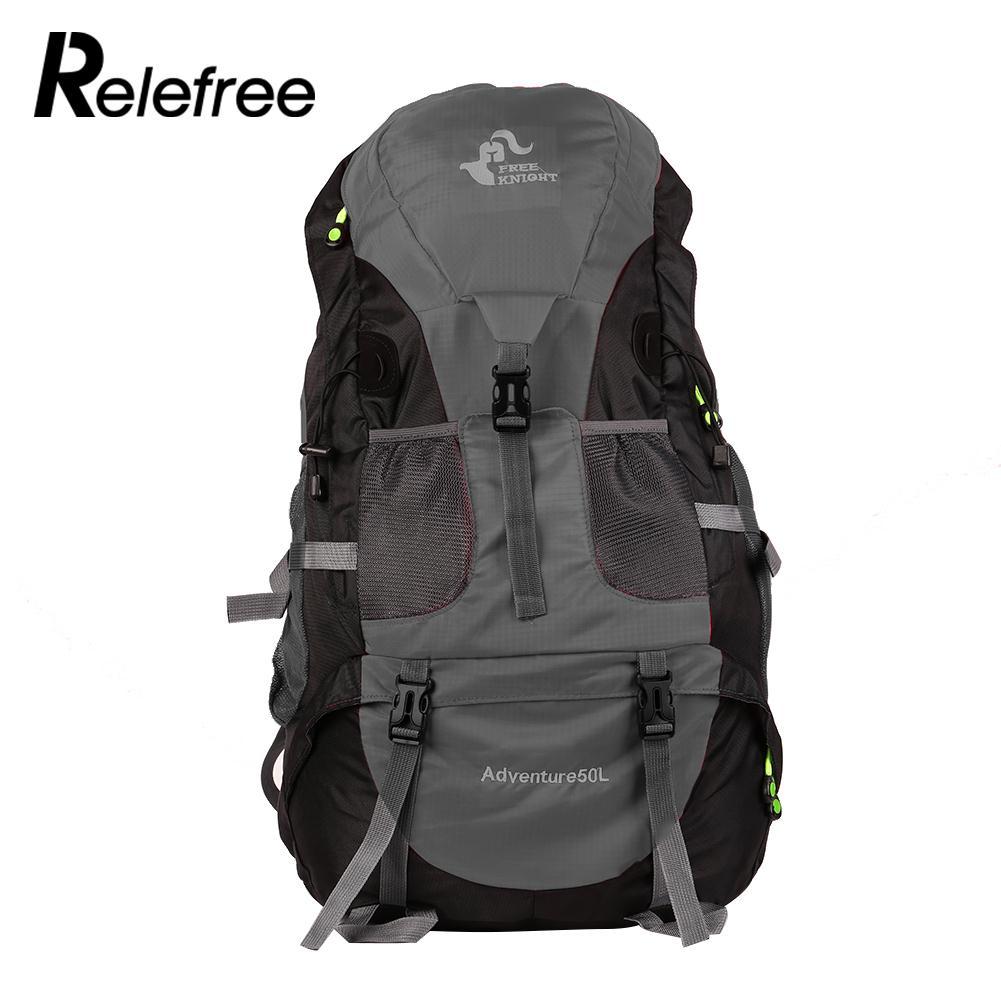 50L sac à dos sac à dos escalade montagne Camping en plein air équitation étanche