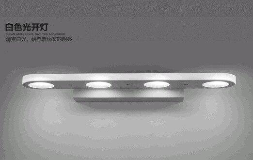 Badkamer Lamp Spiegel : Moderne korte verlengen led spiegel licht badkamer spiegel