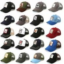 26 Animals Pattern Fashion Women's Mesh Baseball Hat Snapback Cap