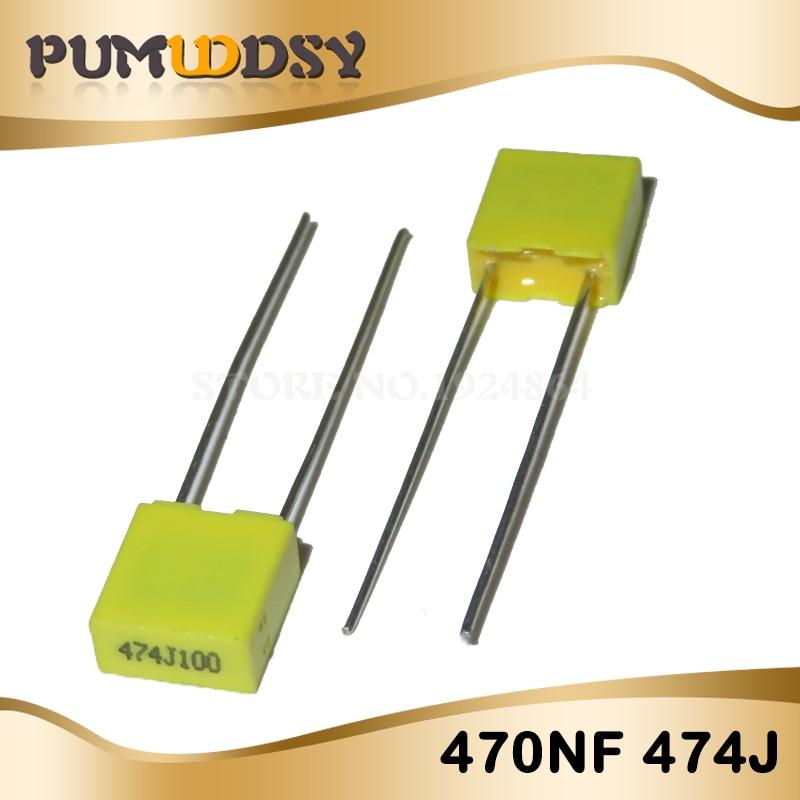 Paquete De Condensador de corrección de 50 un.//lot Kit 10 valor de plástico polipropileno de seguridad
