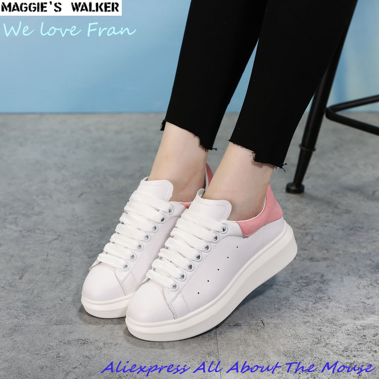 Maggie s Walker Women Fashion Real Leather Boots Trendy Casual Shoes Black Red 2 Colors Size