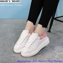 Andador de Maggie Moda Mujer Botas de Moda de Cuero Real Zapatos Casuales Negro/Rojo 2 Colores Tamaño 35-39
