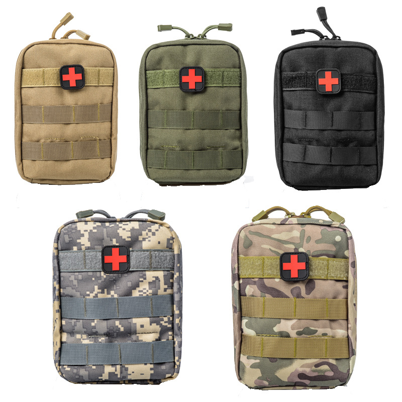 Tactical Medical Kit Emergency Case Multi-function First Aid Kit Outdoor Climbing Camping Hiking Survival Bag Accessories Pocket