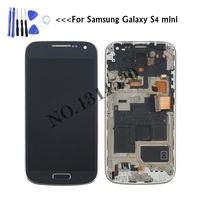 100 AMOLED LCD For Samsung Galaxy S4 Mini I9190 I9195 I9192 LCD Display Touch Screen Digitizer