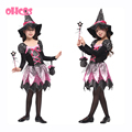 OHCOS Novel Halloween Witch Costume For Girls Role Play Cosplay Performance Dance Show Halloween Costumes For Kids