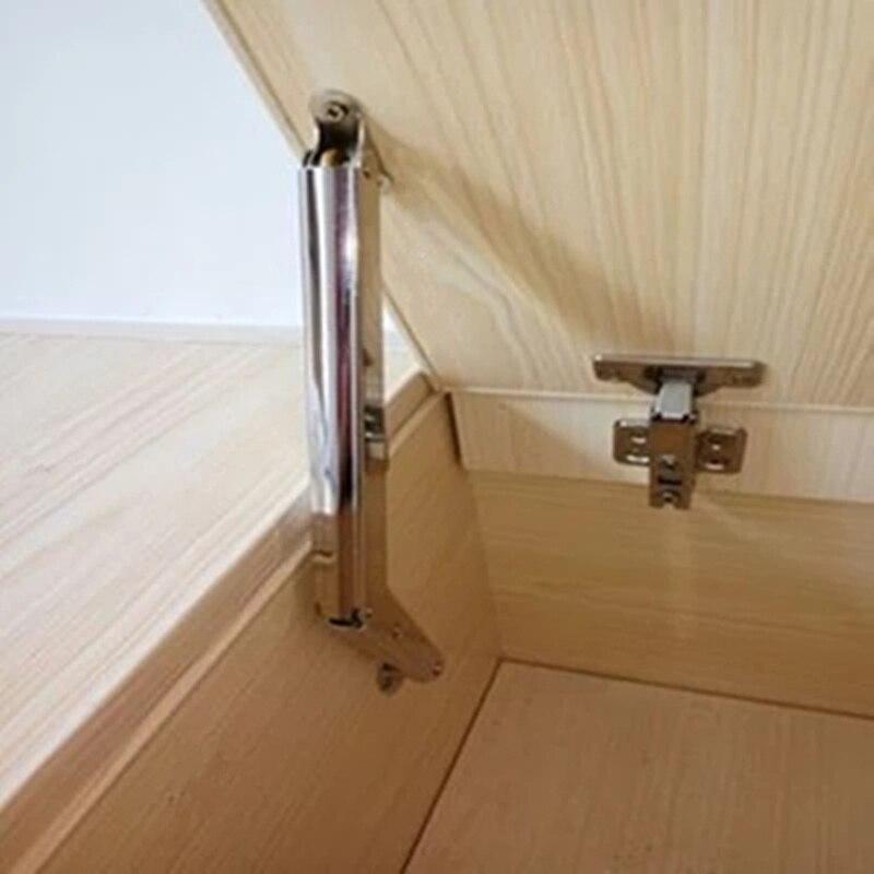 Tatami parada libre de neumático apoyo bisagras varilla hidráulica cajón levantar apoyo amortiguación para la puerta del gabinete de Hardware de muebles