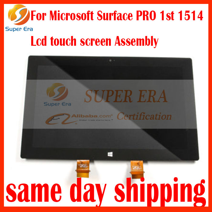 New original For Microsoft Surface PRO 1 1514 LCD Display Touch Screen Digitizer Glass Repair Parts Panel Assembly Replacement