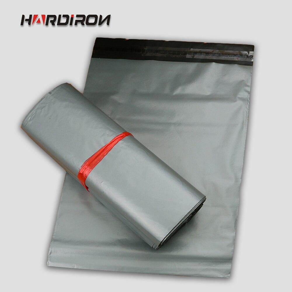 HARD IRON Silver Poly Mailer Mailing Bag Organizador Bolsas Storage Adesivos Plastic De  ...