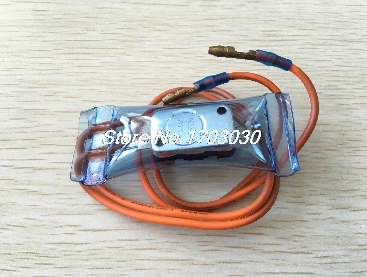 -7C Refrigerator Cooling Fan Bimetal Thermostat Temperature Control Switch 10pcs ksd301 92 celsius temperature switch bimetal disc thermostat nc