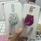 Glitter Quicksand Phone Cases for LG K10 Lte F670 M2 K430DS K410 K420N K430DSF Case Bling Cute Soft Silicon Back Cover 3D Capa