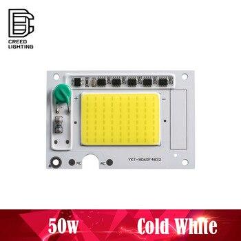 COB Светодиодная лампа чип 50 Вт AC 220 В холодный белый не нужен драйвер Светодиодный прожектор чип DIY прожектор чип