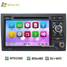 MTK MT3360 Wince 6.0 7inch Car DVD Multimedia Player Radio Stereo Screen GPS Navi Support 3G WIFI For Audi A4 S4 RS4/SEAT EXEO