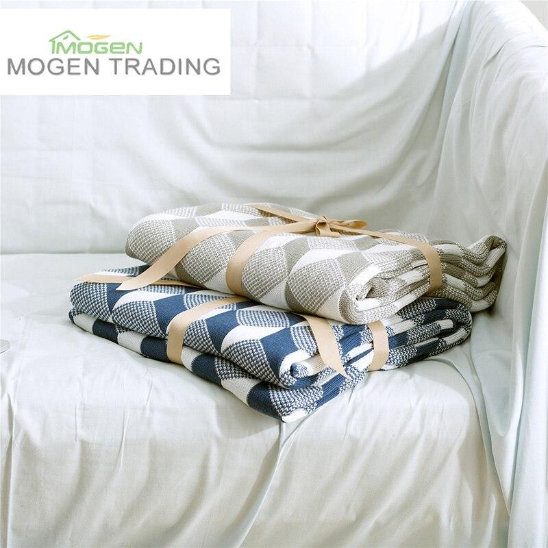 Mantas tejidas nórdicas hoteles de lujo modelos personalizados hogar ...