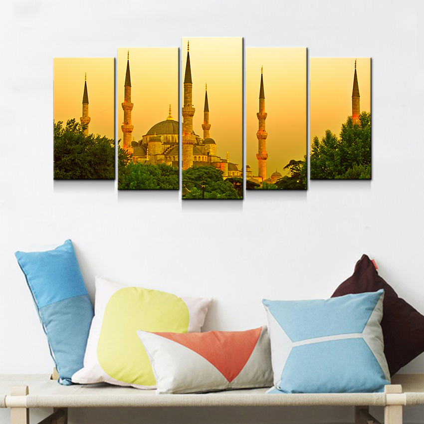 Istanbul Turkey Home Room Wall Decor Canvas - Trend20 | The Turkish ...