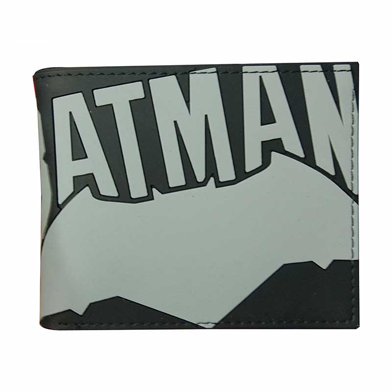Dollar Price Batman Wallets Cartoon Animation Super Hero Series Bat-man Purse for Yong Gifts Money Bags PVC Leather Short Wallet fashion animation joker wallets casual leather gift purse no zipper dollar price money bags men women standard short wallet page 4