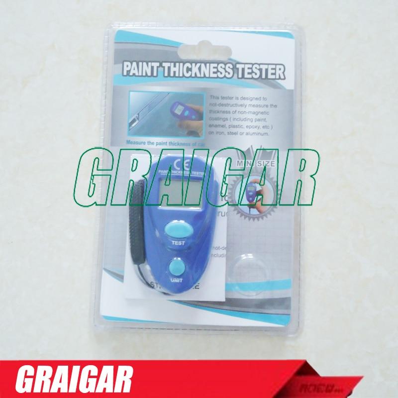 EM2271 Digital LCD ציפוי רכב עובי מד עובי הציוד עובי צבע עובי מטר DIY כלי 0-80mil