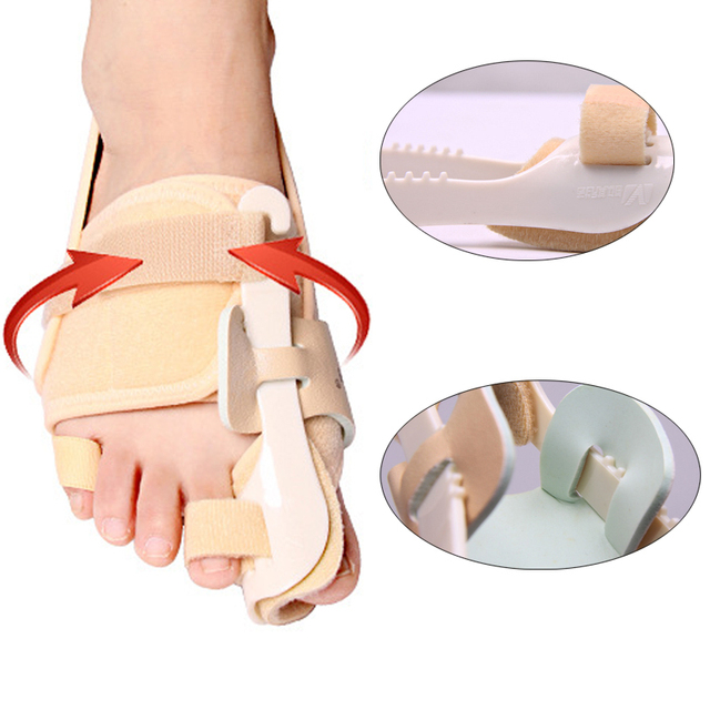 Wholesale 10pcs/lot Outer Orthopedic Braces Thumb Bone Hallux Valgus Corrector Big Feet Blackmailed Toes Thigh Bone Sufficient