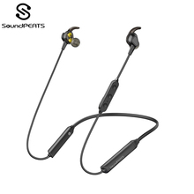 SoundPEATS Engine Bluetooth 5.0 Wireless Earphones Neckband Dual Dynamic Drivers Earbuds with CVC6.0 Mic IPX6 13hrs Playtime