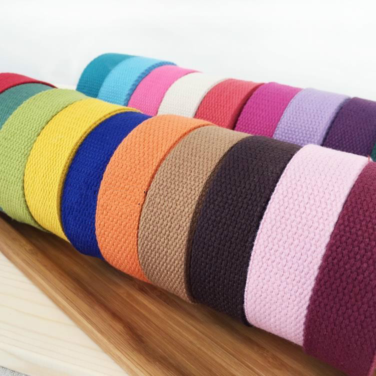 10Yard/Lot Color Canvas Herringbone Twill Cotton Tape 2