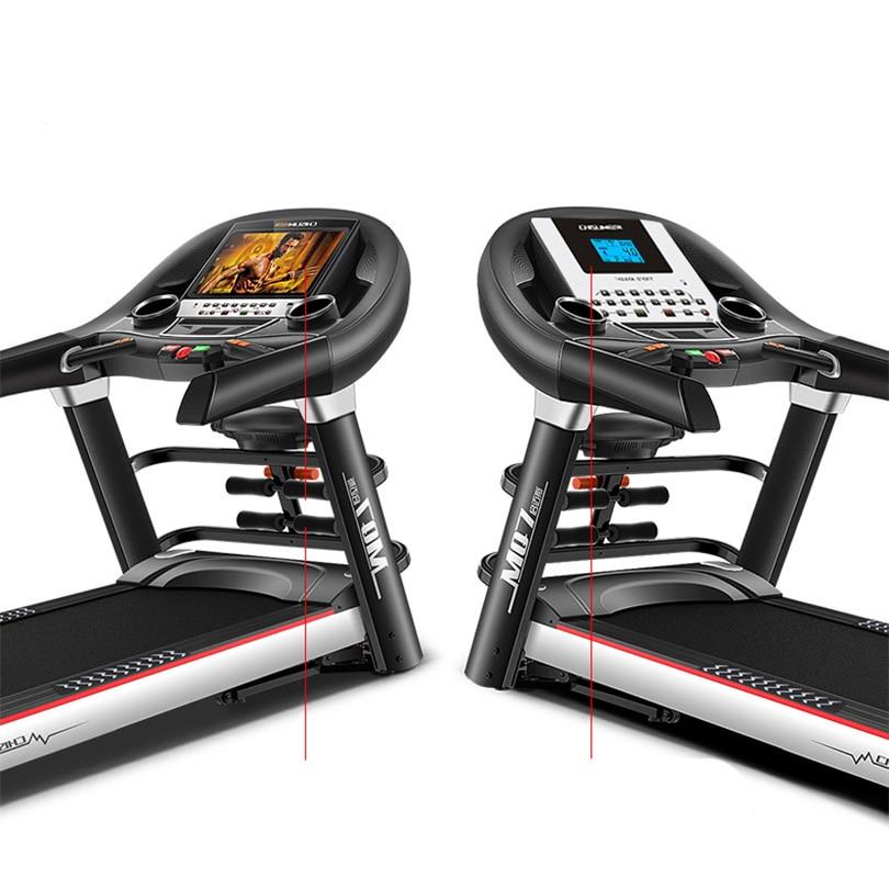 CHISLIM Baru 5.5HP Peralatan Fitness Treadmill Latihan Listrik - Kebugaran dan binaraga - Foto 5