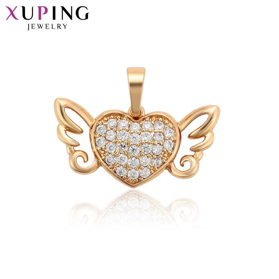 Xuping Charms style miłość naszyjnik z wisiorkiem w kształcie skrzydeł dla kobiet specjalny prezent dla kobiet święto dziękczynienia S110, 3-34097