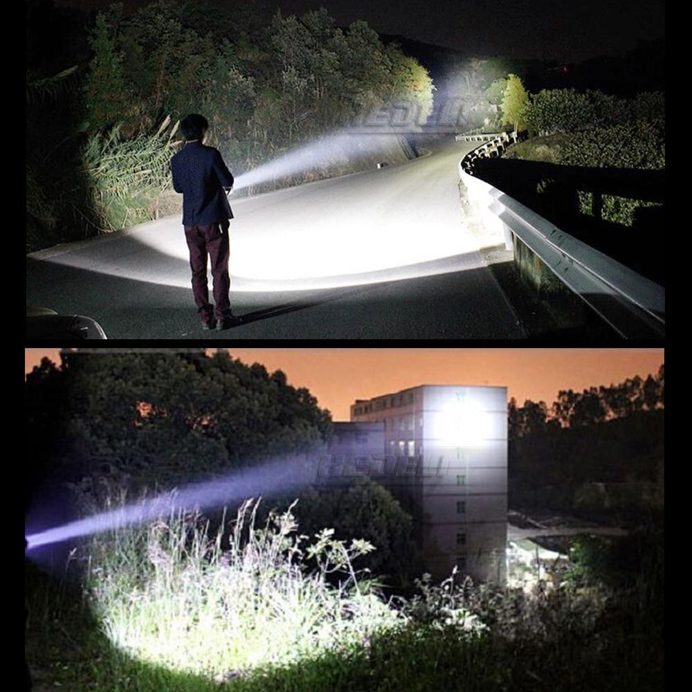 XHP70.2 power bank lampe torche long range hunting flashlight usb most powerful flashlight CREE XHP70.2 torch 18650 waterproof - 6