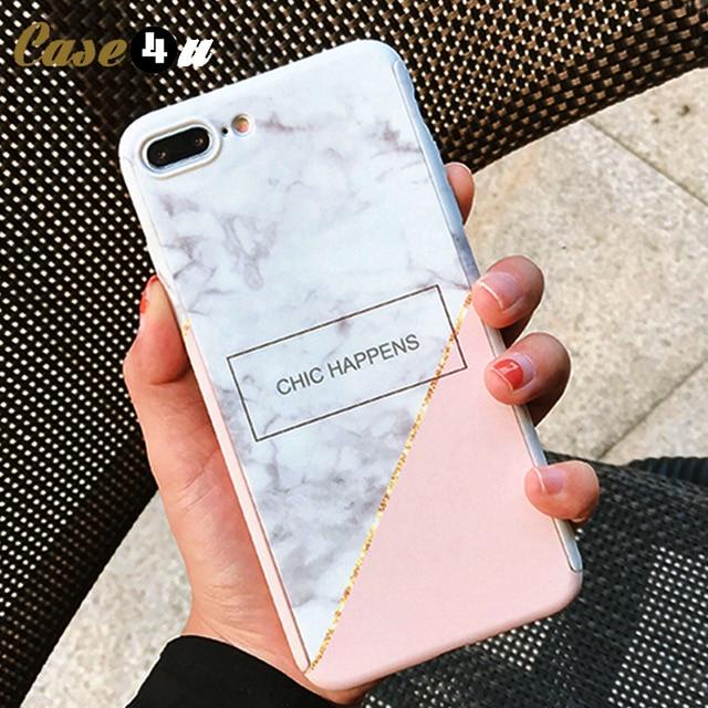 coque iphone 6 360 degres marbre