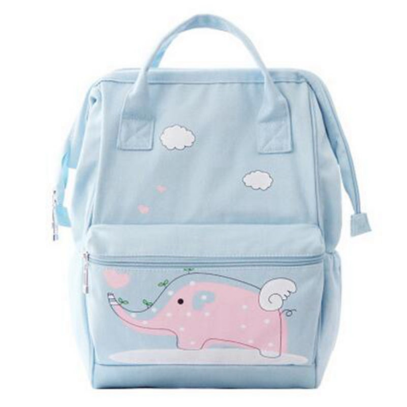 Korean Style Cute Canvas Backpack Printing Backpacks for Teenage Girls Schoolbag Ladies Travel Rucksack Mochila Promotion free shipping korean version candy colors fairy tail logo printing man woman canvas schoolbag red green black blue backpacks