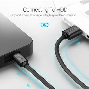 Image 3 - Ugreen Mini USB kablosu Mini USB USB hızlı veri şarj cihazı kablosu MP3 MP4 oynatıcı araba dvrı GPS dijital kamera HDD Mini USB