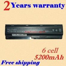 JIGU baterias de laptop PARA HP Compaq CQ42 MU06 MU09 CQ32 G62 G72 G42 593553-001 DM4 5200 mAh 6 celular 593554-001 (X10-01)