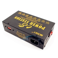 Mosky C8 Guitar Effect Pedal Power Supply 8 Ways Outputs 4 9V Ddjustable 12V 18V Optional