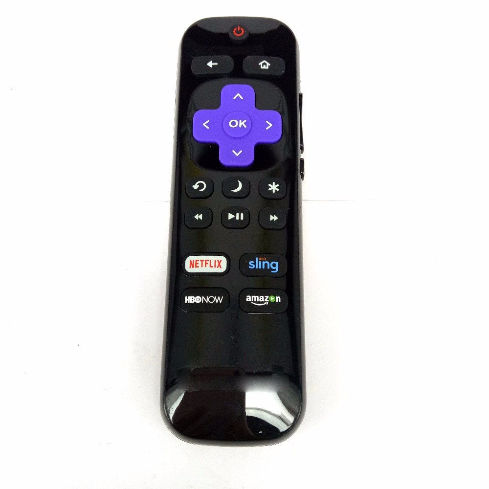 New Original LC-RCRUS-17 Remote Control for Sharp Roku Ready TV LC-32LB481U LC-43LB481U