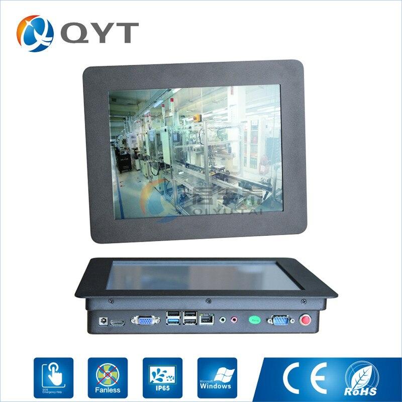 10.4 прочный Win7/8/10 Tablet PC с i3 RS232 RJ45 DC prot резистивный сенсорный 800x600 промышленных Панель ПК с 2 ГБ DDR3/32 г SSD