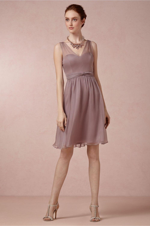 Dorable Vestido De Dama De Melbourne Alquiler Inspiración ...