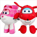 Cute Super Wings Jett/Dizzy Air Plane Plush Toy Hot Cartoon Peluche Doll for Baby Kids Gift 20cm/30cm Kawaii Animation Dolls