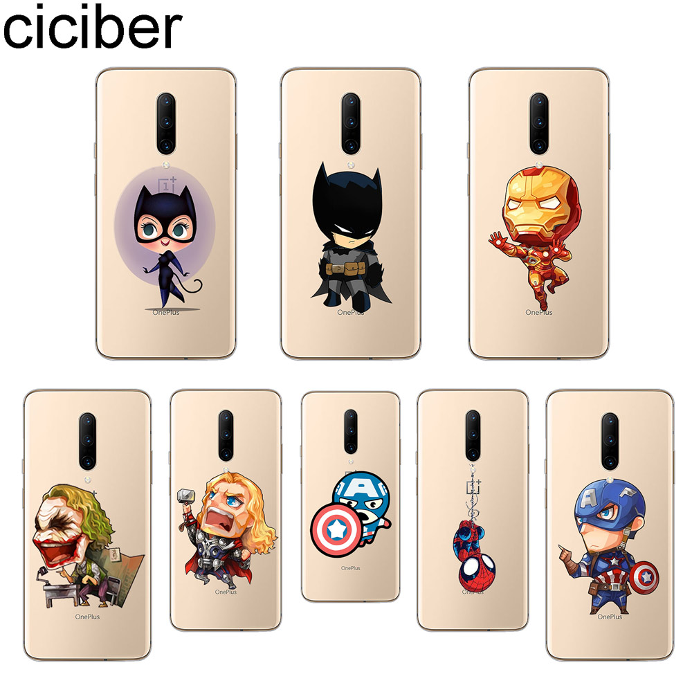 ciciber Marvel Iron Man Phone Cases For font b Oneplus b font font b 7 b