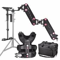 Laing M30S Profesjonalny Stabilizator Steadycam Steadicamu Carbon Fiber lekki DSLR Video Camera + Kamizelka + Sanki + ramię