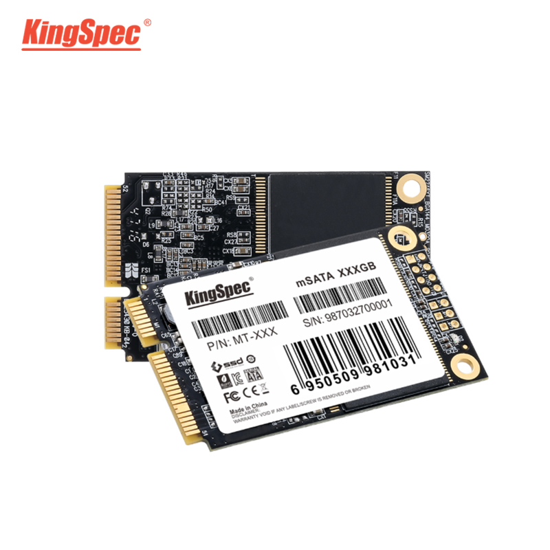 Kingspec MSATA SSD 64gb 120gb Mini SATA 240gb 500gb 1tb Hard Drive SSD For Laptop Thinkpad ASUS Internal Solid State Disk