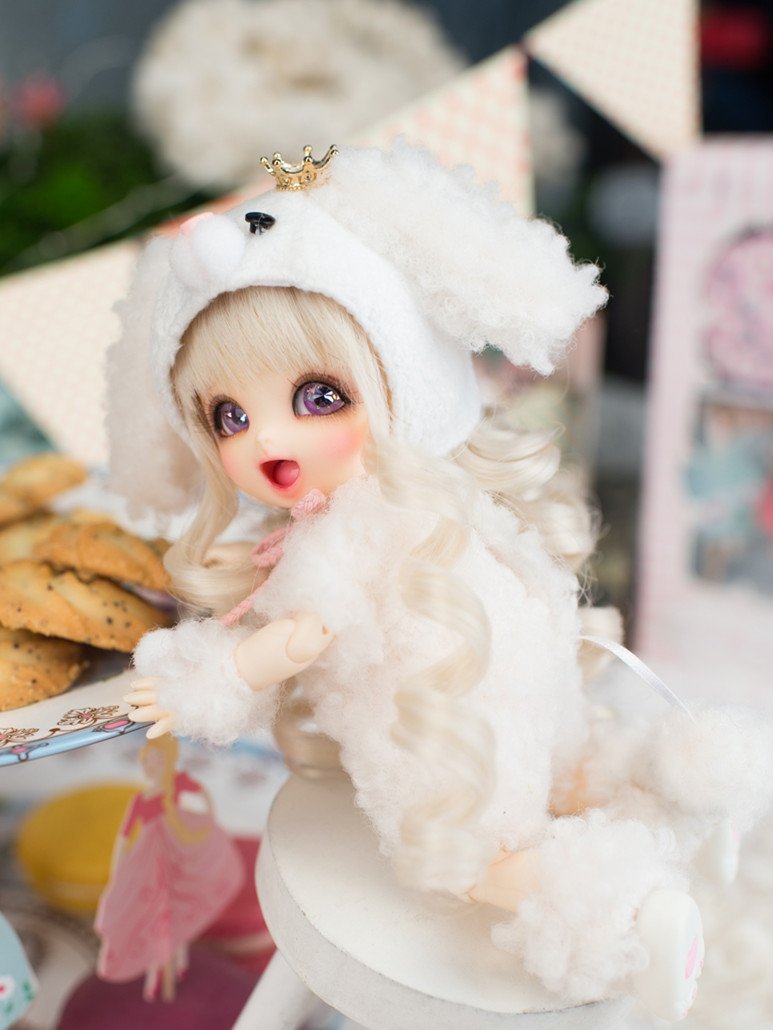 Bjd doll 1 8 Pongpong gift high quality doll free eyes can choose