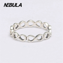 2016 Autumn Infinite Shine Silver Rings 925 Sterling Silver Compatible With Pandora Ring Original Jewelry DIY Wholesale