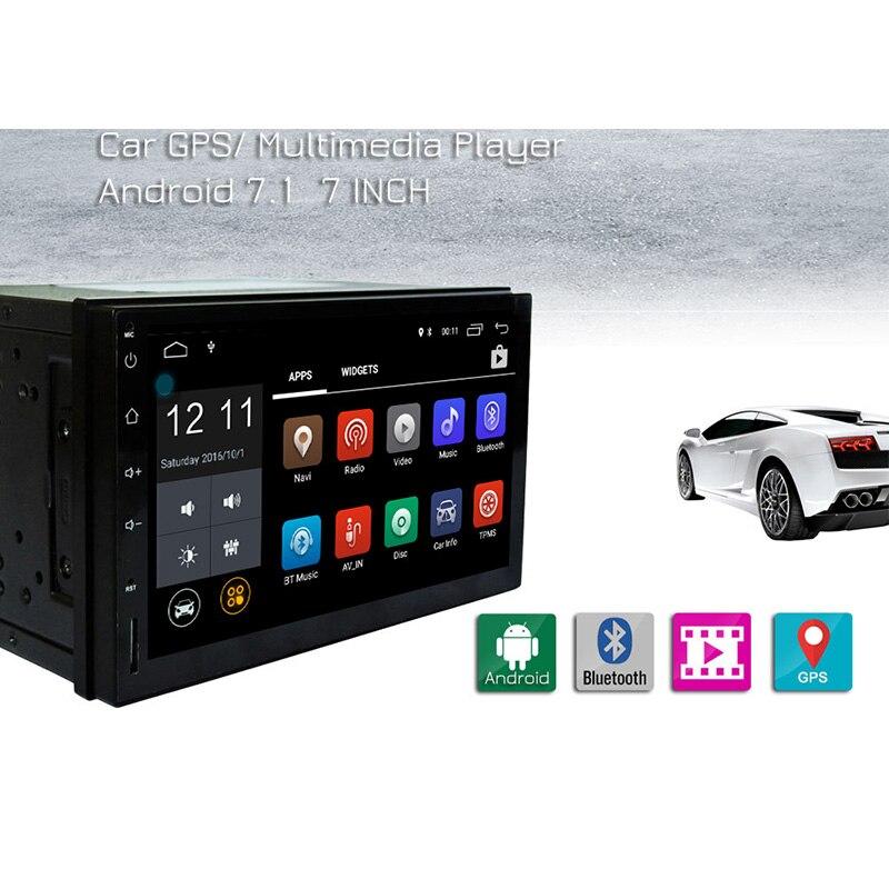 RM-CT0009L 7 ''gps dvd-плеер автомобиля Android 7,1 автомобиля MP5 игроков Bluetooth, Wi-Fi автомобильный мультимедийный плеер сзади камера заднего вида FM видео