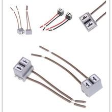 2 шт. разъем адаптера жгута проводов розетки автомобиля автоматический проводной соединитель кабельный разъем для h7 HID светодиодный фары Противотуманные фары лампы