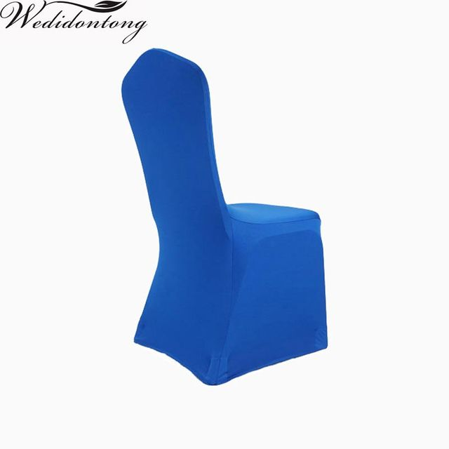 royal blue chair covers adirondack white 45 90cm polyester universal cover wedding chaircovers